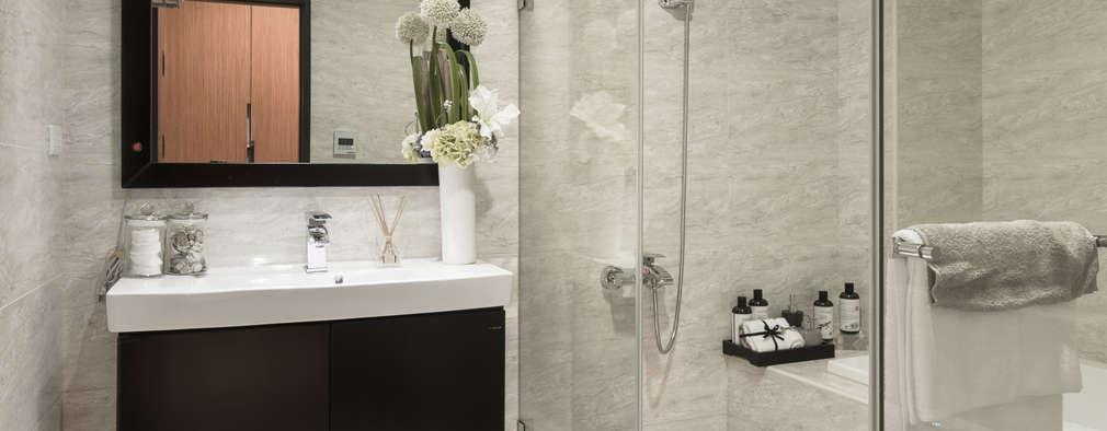 簡約 / 都會風:  浴室 by 騰龘空間設計有限公司
