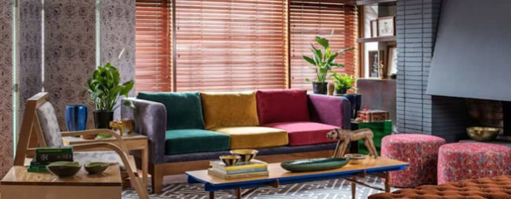 SALA 4 - OCHOINFINITO : Salas de estilo ecléctico por OCHOINFINITO Mobiliario - Interiorismo
