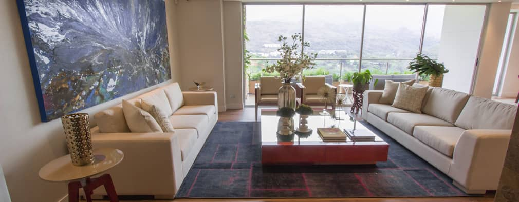 Apartamento bosques del oeste : Salas de estilo moderno por astratto