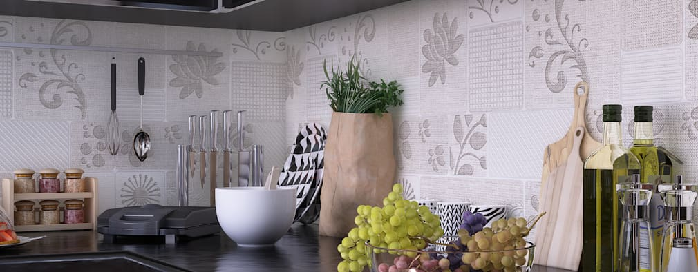 KITCHEN: modern Kitchen by VIZPIXEL STUDIO