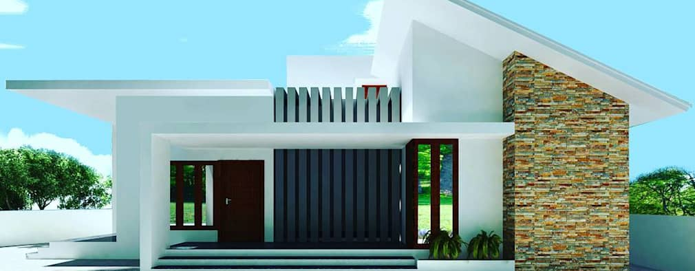 Architecture: modern Houses by TRIANGLE HOMEZ
