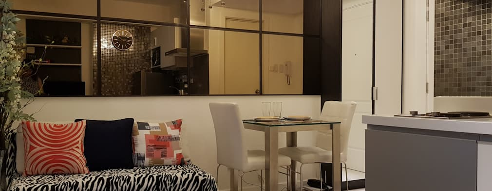 Sofisticato at Azure Urban Residences, Paranaque City: modern Living room by Idear Architectural Design Consultancy