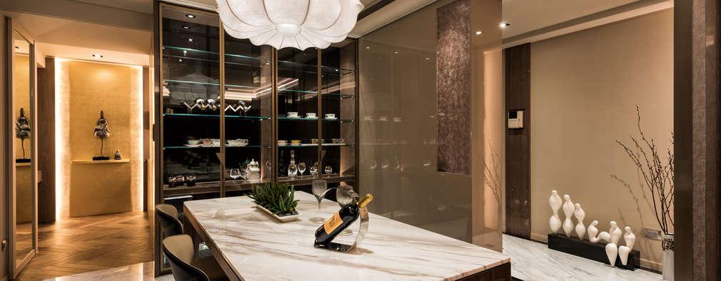 住空間-光復南路:  餐廳 by 青易國際設計