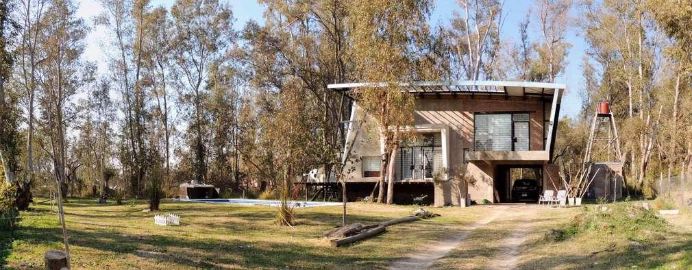Casa A&P - Exterior: Casas unifamiliares de estilo  por Módulo 3 arquitectura