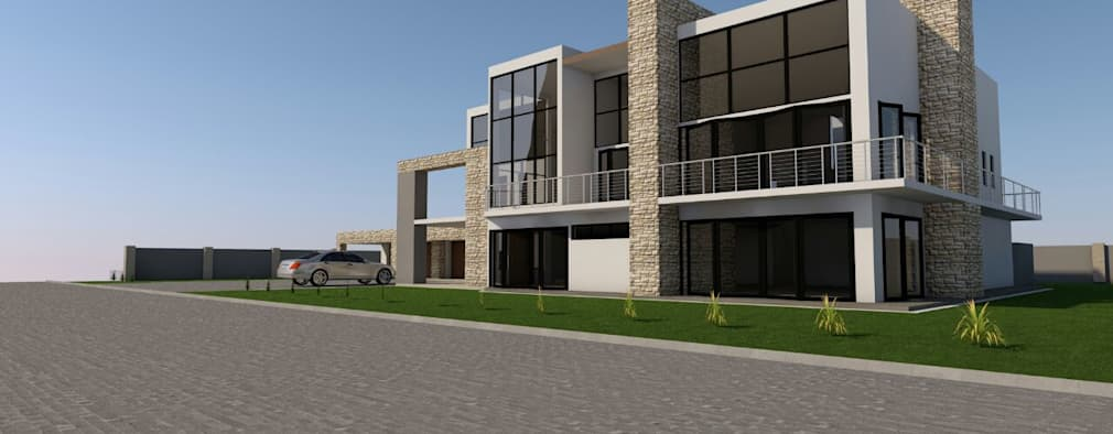 NORTH ELEVATION:   by MNM MULTI PROJECTS