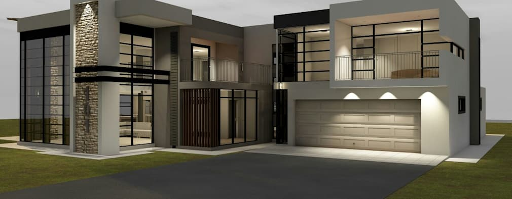 4 bedroom house :   by MNM MULTI PROJECTS