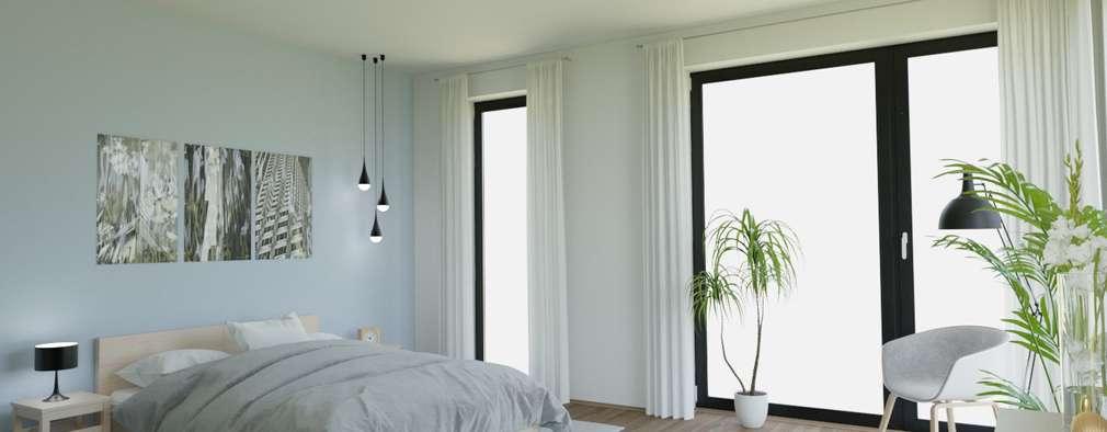 Schlafzimmer   Ansicht 1: Von VISUAL BUHO Homestaging U0026 Redesign