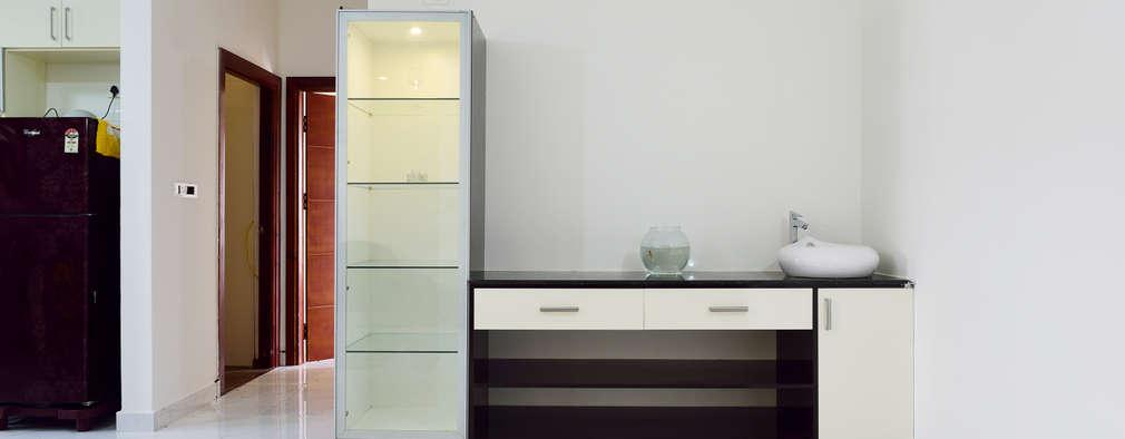 Apoorva Vijesh Aratt requiza: modern Bathroom by Designasm Studio