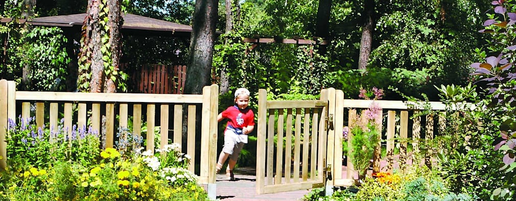 Cancelli e recinzioni da giardino 27 idee per la privacy for Cancelli da giardino