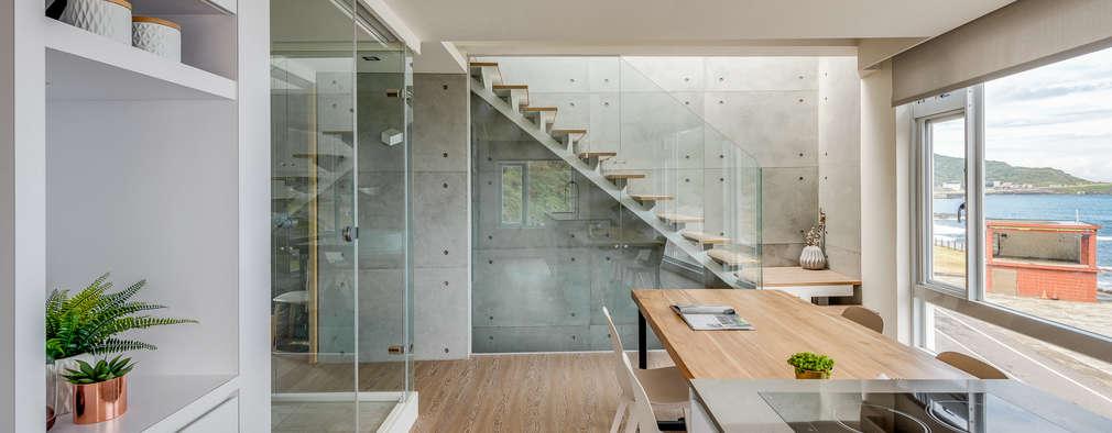 白屋 居所:  餐廳 by 御見設計企業有限公司