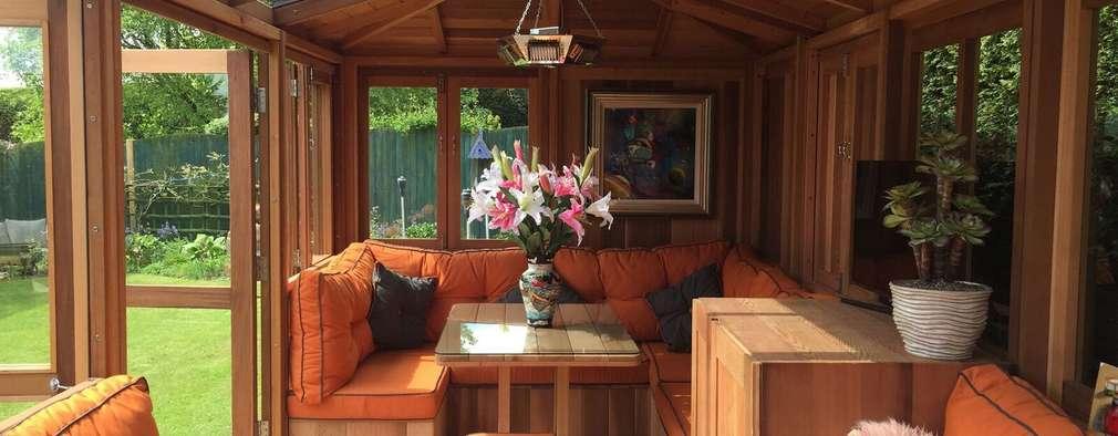 Outdoor Garden Rooms: modern Garden by Garden Furniture Centre