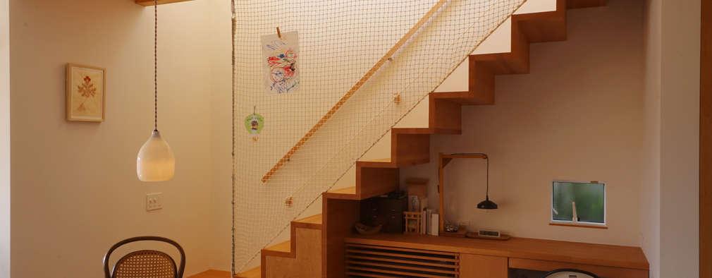 Stairs by 有限会社建築計画