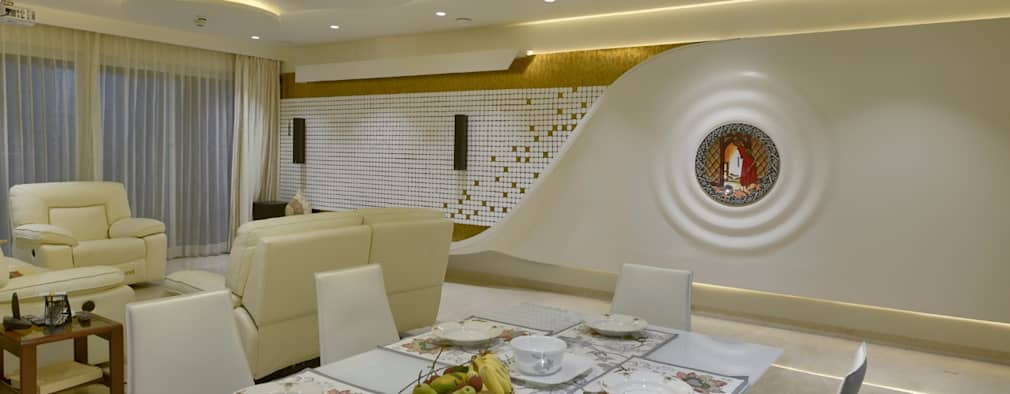 Interior project: modern Dining room by Creative Geometry