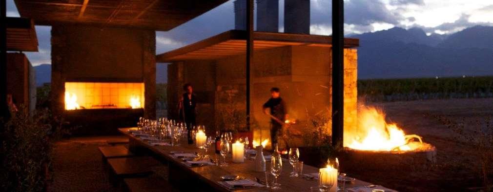 Hoteles de estilo  por Bórmida & Yanzón arquitectos
