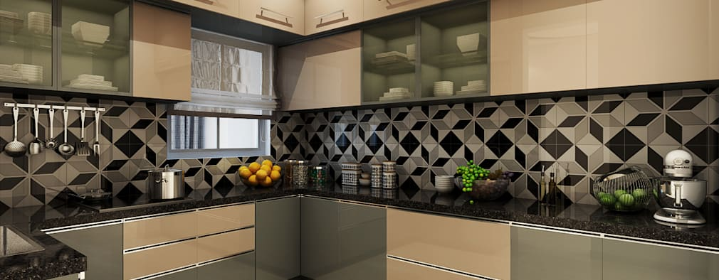 Interiors: modern Kitchen by Spaces Alive