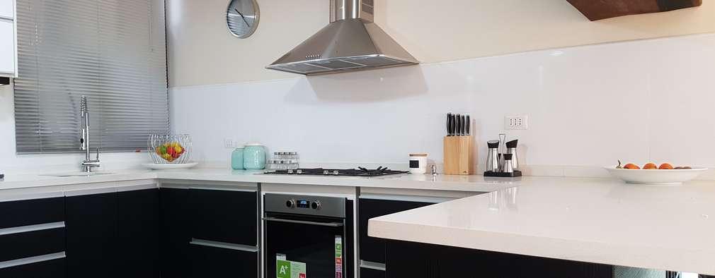 Diseño de una cocina moderna en Viña del Mar
