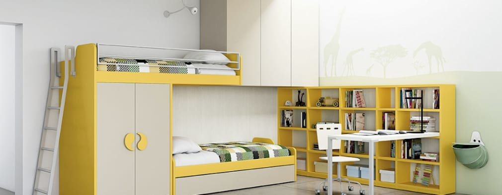 Mobiliario para dormitorios:  de estilo  por BMAA