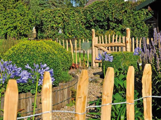 Cercas jardin metal cerca del jardn jardn cercas cercas - Cercas para jardin ...