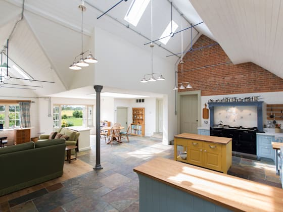 Farmhouse Keuken Landelijk : Luxe keukens homify