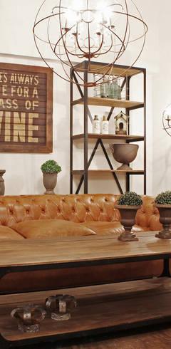Living room by Estación Ortiz