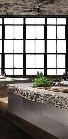 Natursteinküche:   von werkhaus