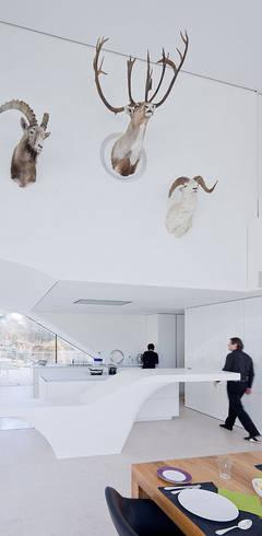 Haus am Weinberg:  Woonkamer door UNStudio