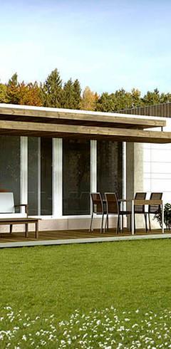 moderne Häuser von Casas Cube