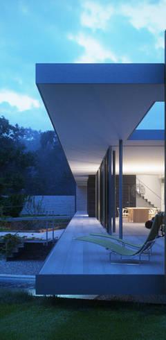 Terrasse von Strom Architects
