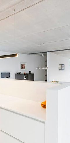 Гостиная в . Автор – Architectenbureau Dirk Nijsten bvba