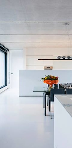 modern Living room by Architectenbureau Dirk Nijsten bvba
