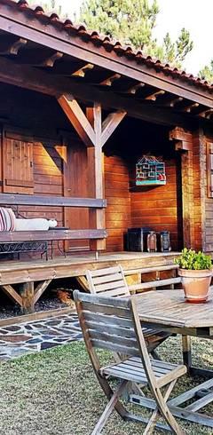 Projekty,  Dom z drewna zaprojektowane przez Rusticasa