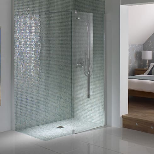 Wetroom Shower Areas:  Bathroom by nassboards