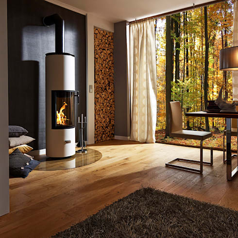 Living room by MaisonFire