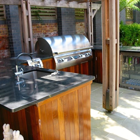 Home improvement: 7 steps to a barbecue area (no woodworking!)