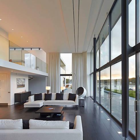 Salon de style  par The Manser Practice Architects + Designers