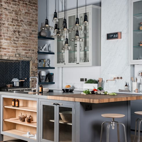 W9  |  Eclectic Industrialism :  Kitchen by Davonport