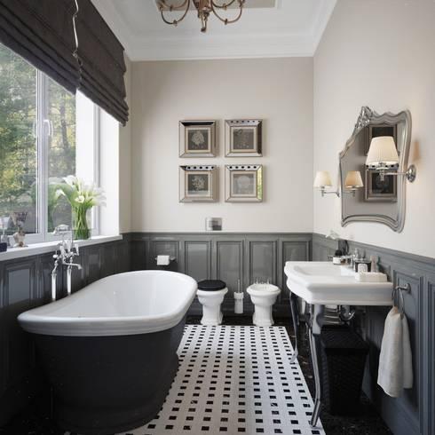 Baños de estilo clásico por Sergey Artiomov