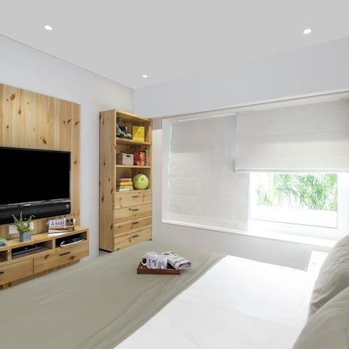 Residential - Lower Parel:  Bedroom by Nitido Interior design