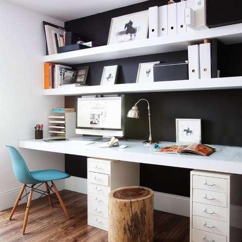 C mo armar un home office en poco espacio for Decoracion estudios despachos
