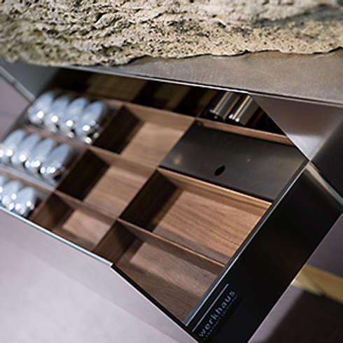 Natursteinküche Detail:   von werkhaus