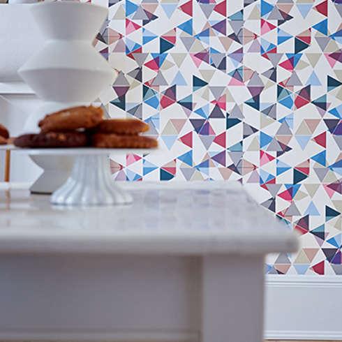 10 asombrosas ideas para decorar con papel pintado - Disbar papeles pintados ...