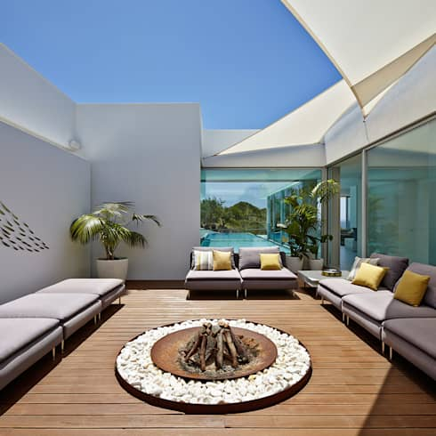 Villa Escarpa, Praia da Luz, Portugal:  Terrasse von Philip Kistner Fotografie