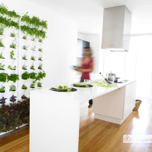 minigarden Vertikalgartensystem:  Raumbegrünung von Greenbop