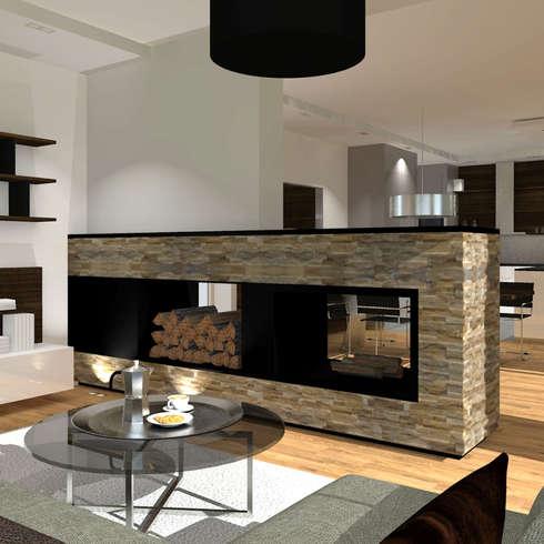 ideen hausbau - Innenarchitektur Design Modern Wohnzimmer
