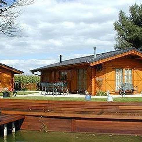Vivere alternativo nelle casette in legno abitabili - Vivere in una casa di legno ...
