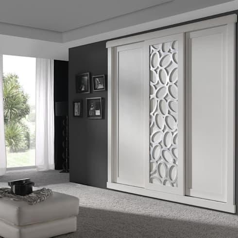 armarios empotrados dormitorios de estilo clsico de muebles rabanal sl - Armarios De Diseo