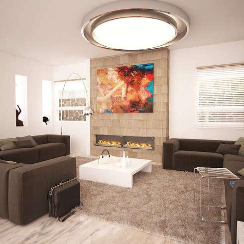 Klassische Wohnzimmer Von Arkitecto9.com