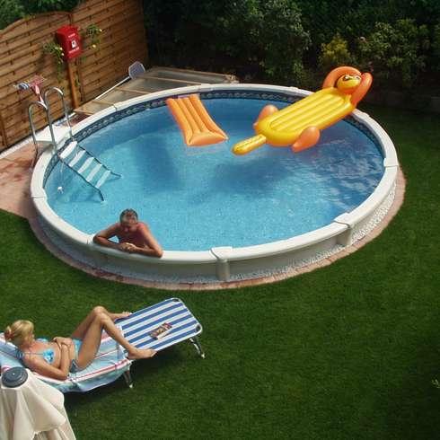 Der eigene Pool im Garten