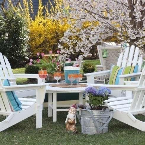 Gartenmöbel Im Landhausstil umweltfreundliche gartenmöbel aus polywood kunststoffholz