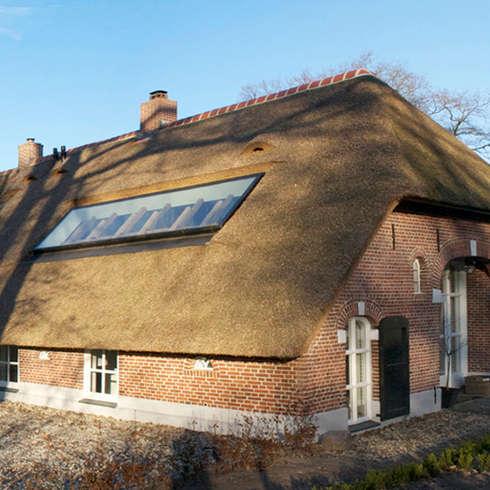 Villa Borkeld: landelijke Huizen door reitsema & partners architecten bna